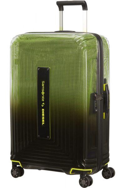 Samsonite Skořepinový cestovní kufr Neopulse x Diesel M 74 l – černá