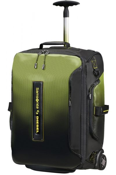 Samsonite Cestovní taška/batoh Paradiver x Diesel 51 l – černá