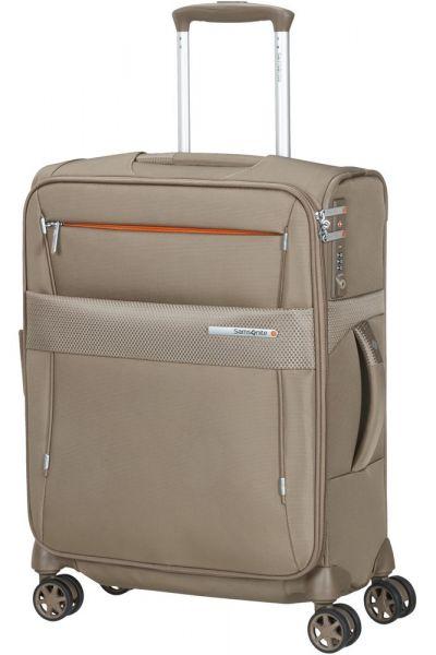 Samsonite Kabinový cestovní kufr Duopack EXP 1 Frame 38/45 l – béžová