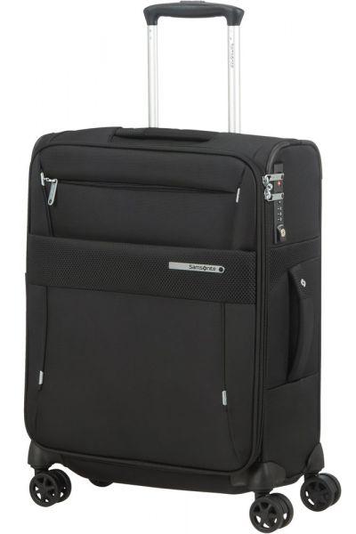 Samsonite Kabinový cestovní kufr Duopack EXP 1 Frame 38/45 l – černá