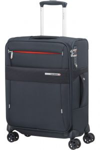 Samsonite Kabinový cestovní kufr Duopack EXP 1 Frame 38/45 l – tmavě modrá