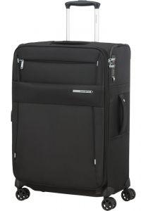 Samsonite Látkový cestovní kufr Duopack EXP 1 Frame 74/82 l – černá