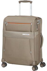 Samsonite Kabinový cestovní kufr Duopack EXP 2 Frame 42/49 l – béžová