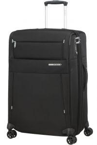Samsonite Látkový cestovní kufr Duopack EXP 2 Frame 81/91 l – černá