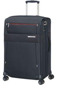 Samsonite Látkový cestovní kufr Duopack EXP 2 Frame 81/91 l – tmavě modrá