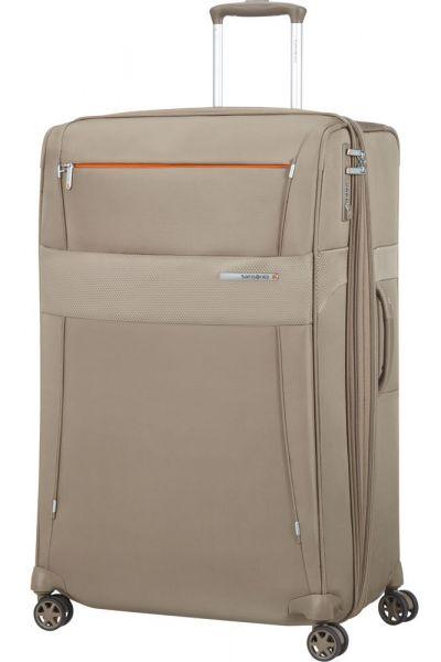 Samsonite Látkový cestovní kufr Duopack EXP 2 Frame 120/136 l – béžová