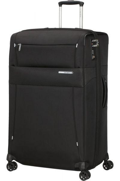Samsonite Látkový cestovní kufr Duopack EXP 2 Frame 120/136 l – černá