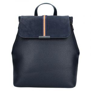Elegantní dámský batoh Hexagona Lili – tmavě modrá