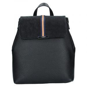 Elegantní dámský batoh Hexagona Lili – černá