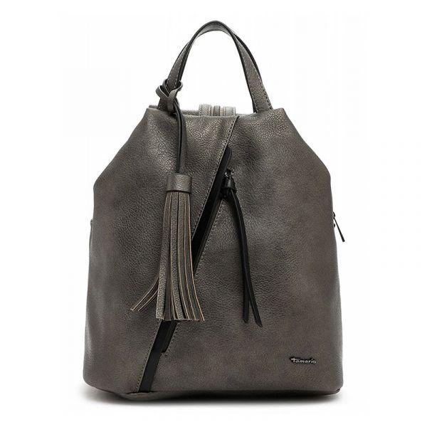 Dámský batoh Tamaris Bortie – tmavě stříbrná