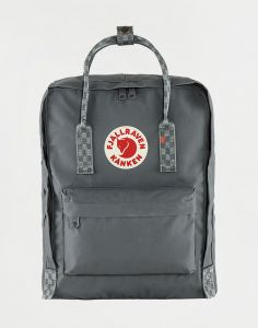 Fjällräven Kanken 046-904 Super Grey-Chess Pattern 16 l