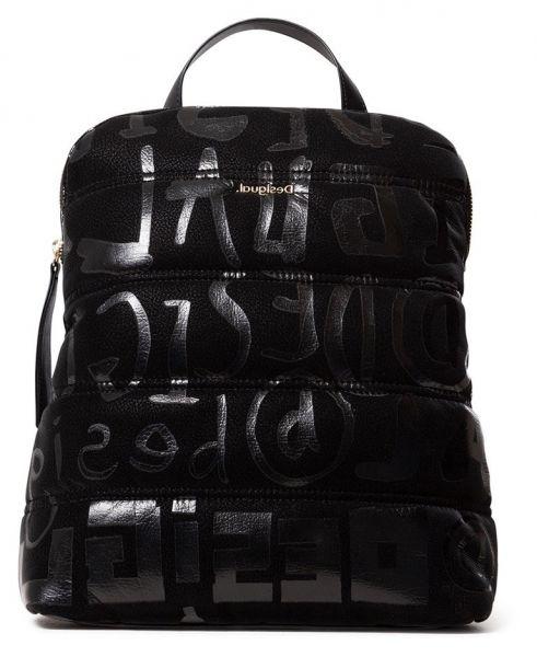 Desigual černý batoh Back Nanaimo