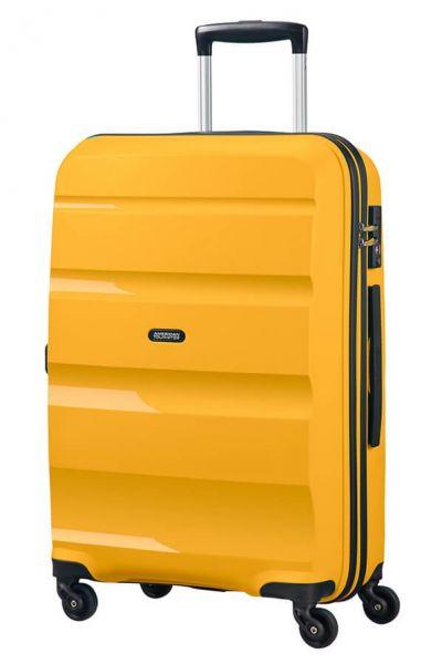 American Tourister Cestovní kufr Bon Air Spinner 57,5 l – žlutá
