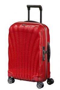 Samsonite Kabinový cestovní kufr C-lite Spinner 36 l – červená