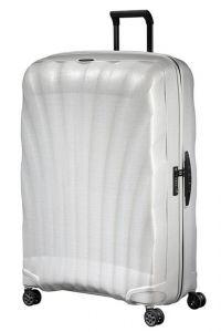 Samsonite Skořepinový cestovní kufr C-lite Spinner 144 l – bílá