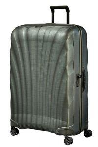 Samsonite Skořepinový cestovní kufr C-lite Spinner 144 l – metalic zelená