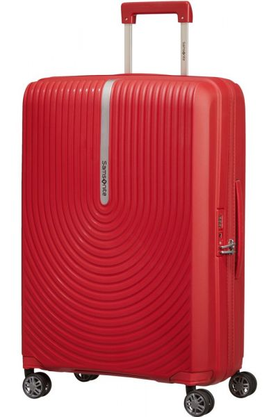 Samsonite Skořepinový cestovní kufr Hi-Fi EXP 73/81 l – červená