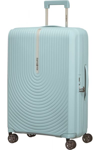 Samsonite Skořepinový cestovní kufr Hi-Fi EXP 73/81 l – světle modrá