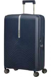 Samsonite Skořepinový cestovní kufr Hi-Fi EXP 73/81 l – temně modrá