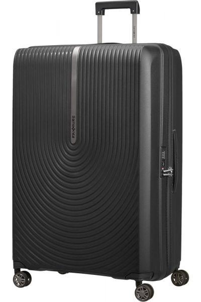 Samsonite Skořepinový cestovní kufr Hi-Fi EXP 119/131 l – černá
