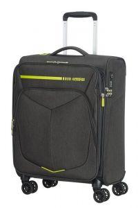 American Tourister Kabinový cestovní kufr Summerfunk Neon EXP 43/46 l – žlutá