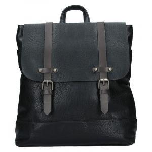 Dámský trendy batoh Flora & Co Silva – černá