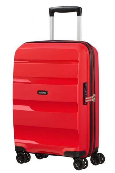 American Tourister Kabinový cestovní kufr Bon Air DLX 33 l – červená
