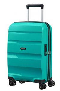 American Tourister Kabinový cestovní kufr Bon Air DLX 33 l – tyrkysová