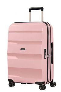 American Tourister Skořepinový cestovní kufr Bon Air DLX M EXP 66/73 l – růžová