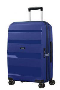 American Tourister Skořepinový cestovní kufr Bon Air DLX M EXP 66/73 l – tmavě modrá