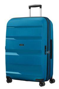 American Tourister Skořepinový cestovní kufr Bon Air DLX L EXP 104/117 l – modrá