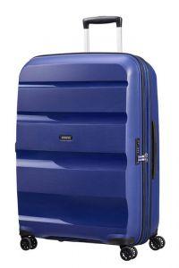 American Tourister Skořepinový cestovní kufr Bon Air DLX L EXP 104/117 l – tmavě modrá