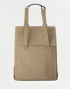 Qwstion Flap Tote Medium Sand 14 l