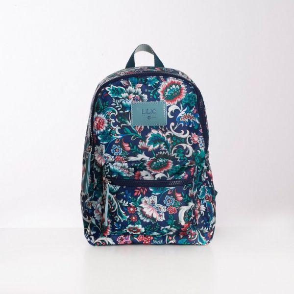 LiLiÓ Smart Flowers M Backpack městský dámský batoh 9 l Pine Wood