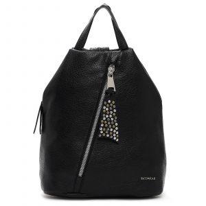 Elegantní dámský batoh Emily & Noah Nicol – černá