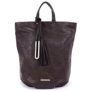 Elegantní dámský batoh Emily & Noah Frenia – hnědá