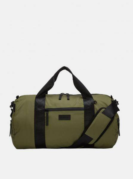 Khaki cestovní taška Consigned