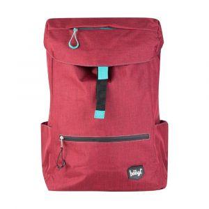 BAAGL Studentský batoh Red 22 l