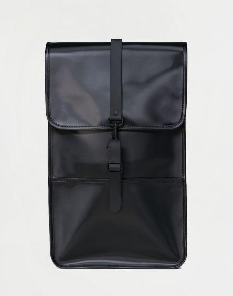 Rains Backpack 76 Shiny Black 13 l