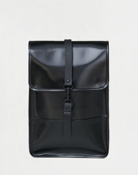 Rains Backpack Mini 76 Shiny Black 8,5 l