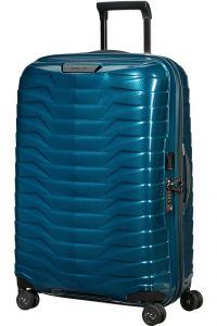 Samsonite Skořepinový cestovní kufr Proxis M 75 l – modrá