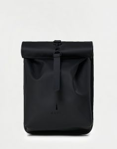 Rains Rolltop Mini 01 Black 10 l