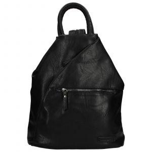 Moderní dámský batoh Enrico Benetti Linia – černá