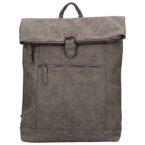 Moderní dámský batoh Enrico Benetti Badea – šedá