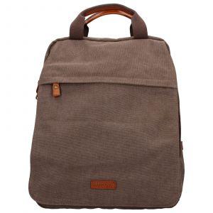 Pánský batoh Katana Tusco – hnědo-zelená