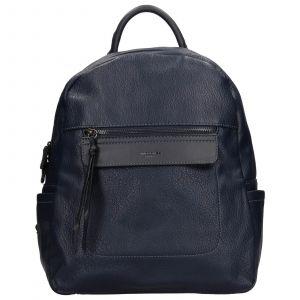 Módní dámský batoh David Jones Cora – modrá