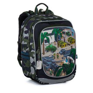 Školní batoh minecraft vojenský Topgal ENDY 21016 B