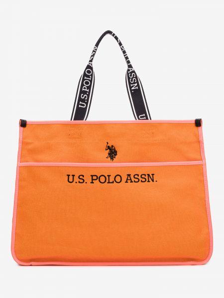 Halifax Taška U.S. Polo Assn Oranžová 922359