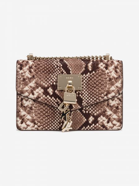 Elissa Small Cross body bag DKNY Hnědá 929743
