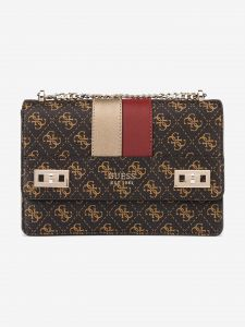 Katey Cross body bag Guess Hnědá 957139